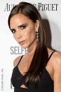 Victoria Beckham straight hair extensions