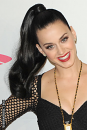 Katy Perry Wrap around ponytail