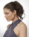Essential Wrap - Ginger Brown - High Pony Updo