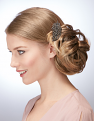 Undone Chignon in Harvest Gold