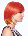 Fierce Fire wig from the right side