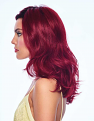 Poise & Berry Wig Left side
