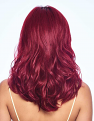 Poise & Berry Wig from the back