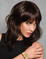 Wave Cut Wig by Hairdo from the front on a model