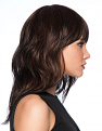 Wave Cut Wig by Hairdo from the side  on a model
