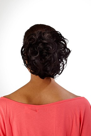 Curly Palm Clip In Ponytail By Hot Hair Ladies Womens