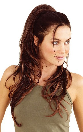 Glam Clip In Ponytail By Hot Hair Hairpieces Clip On
