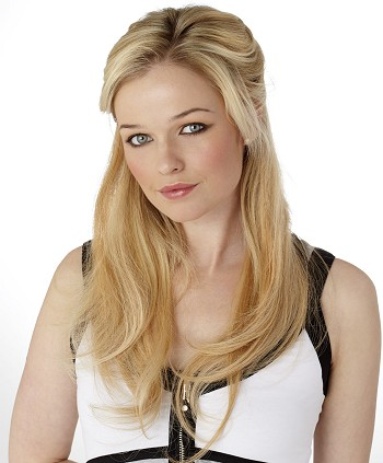 5 Piece 19 inch Human Hair Clip In Extensions by Hot Hair