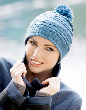 Ava Knitted Hat by Masumi
