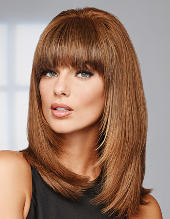 Game Changer Human Hair Topper by Raquel Welch Black Label