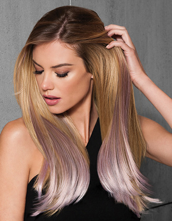 6PC Straight Colour Extension Kit by Hairdo