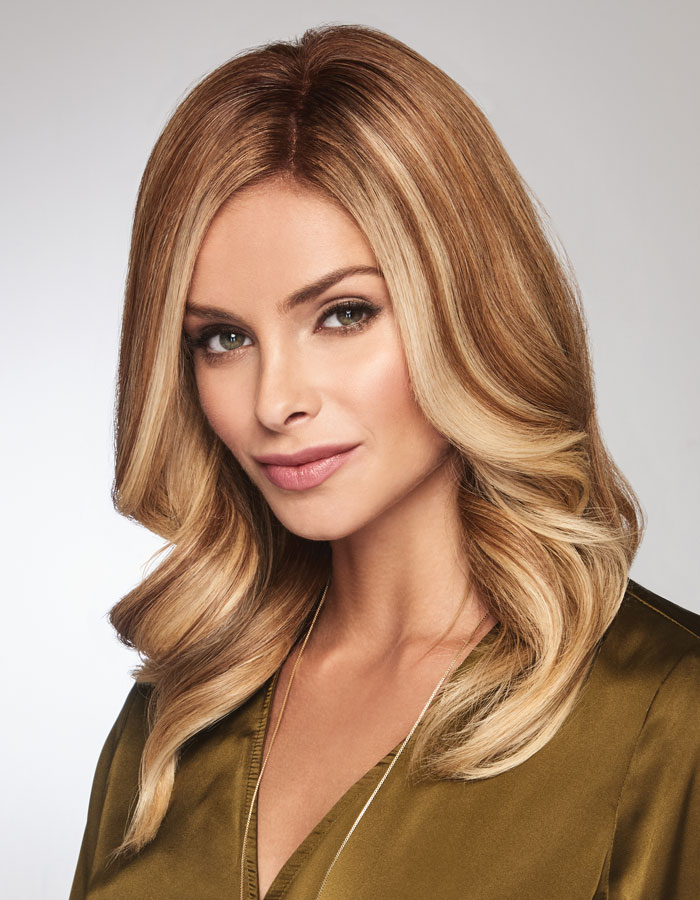 """Gilded 12"""" Human Hair Top Piece by Raquel Welch Transformations"""
