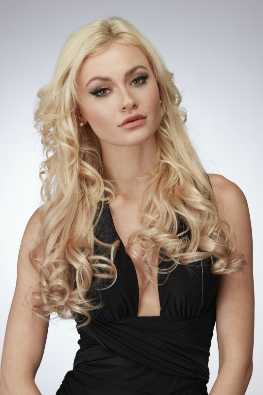 "22"" Luxury Single Weft Remy Human Hair Extensions by Hothair"