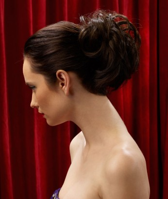 Clip in Updo: Hairdo by Ken Paves