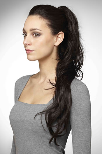 Glam Clip-in Ponytail by Hot Hair