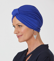 Bamboo Pleated Turban by Natural Image