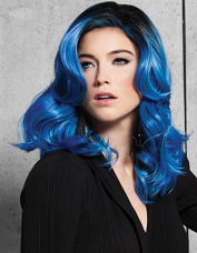 Blue Waves Wig by Hairdo
