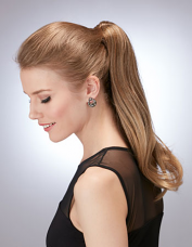 Elegant Clip In Ponytail by Hothair