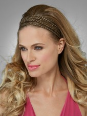 Quad Braid Headband by Hothair