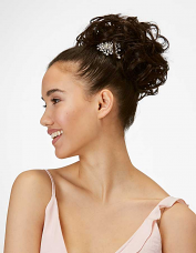 Messy Top Knot Bun by Hothair