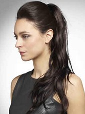 Tousled Clip In Ponytail by Hothair
