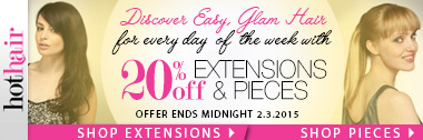 20% off  Glam Party Night Hair