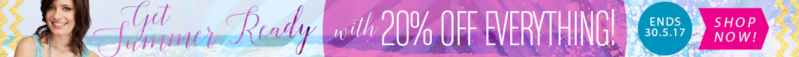 Save 20% off Everything