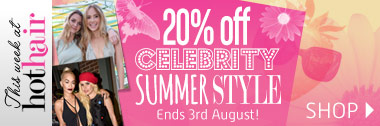 20% off Celebrity Hair