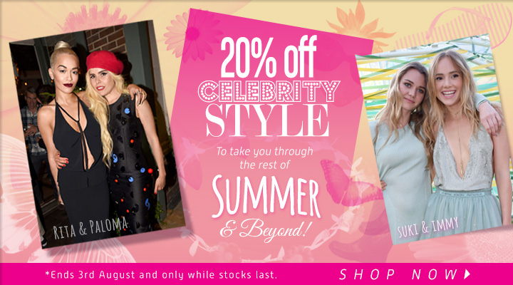 20% off Celebrity Summer Hair Styles