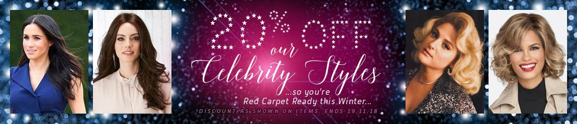 20% off Celebrity Styles